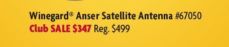 Winegard Anser Satellite Antenna