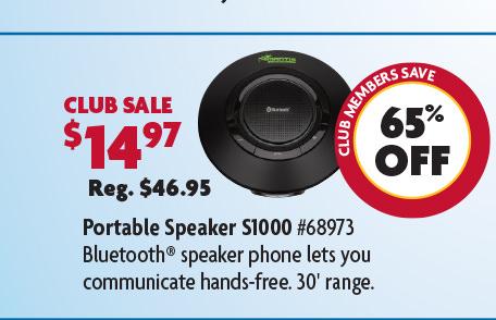 Portable Speaker S1000