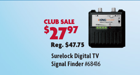 KING Surelock Digital TV Signal Finder
