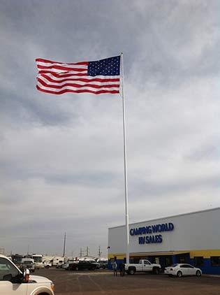 Camping World American Flag