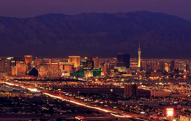 Las Vegas Skyline - Places to visit out west