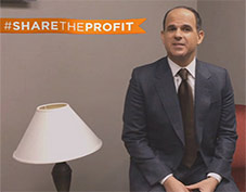 Marcus Lemonis, Share the profit campaign by CNBC