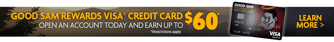 open a good sam | camping world visa account