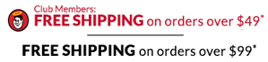 Good Sam Club Members: Free shipping on orders over $49. Non-members: Free Shipping on orders over $99.