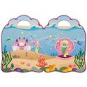 Mermaid Puffy Sticker Play Set