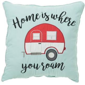 Home Is Where You Roam Pillow