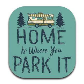 Home is Where Park It Coaster