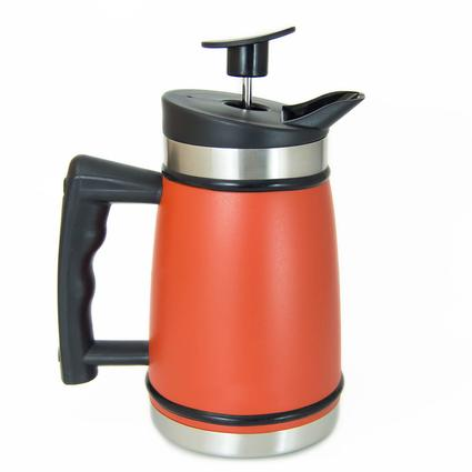 Table Top French Press 32 Oz Candy Apple Red Planetary Design