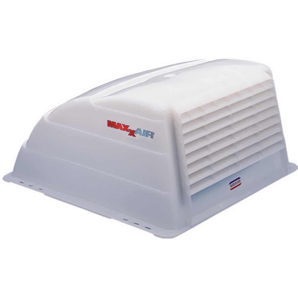 Maxxair i original translucent white roof vent cover - Exterior bathroom exhaust vent covers ...