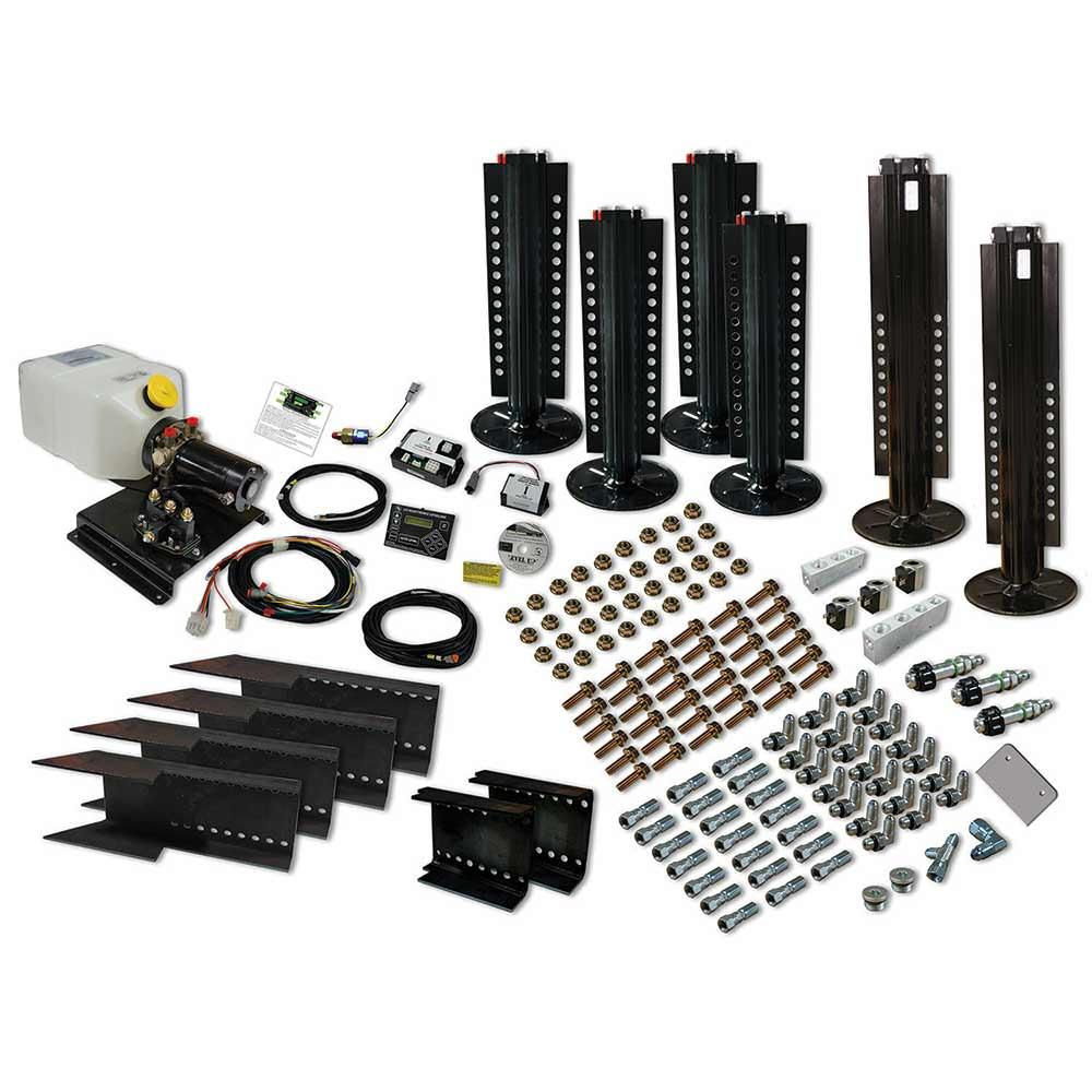 Level Up Automatic Hydraulic Leveling System 6 Point Kit Lippert Powered Car Wiring Harness Scroll Previous Image