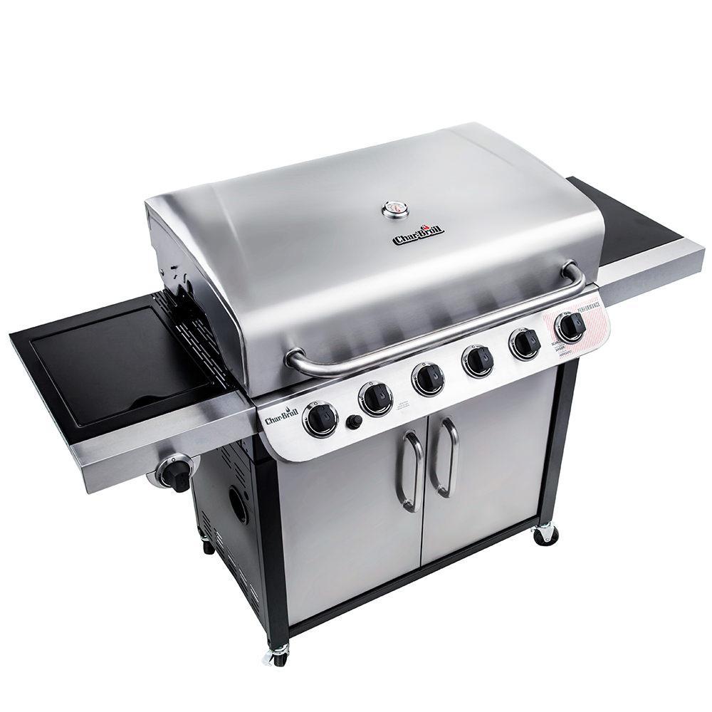 ... Char Broil Performance 6 Burner Cabinet Gas Grill, 60,000 BTU ...