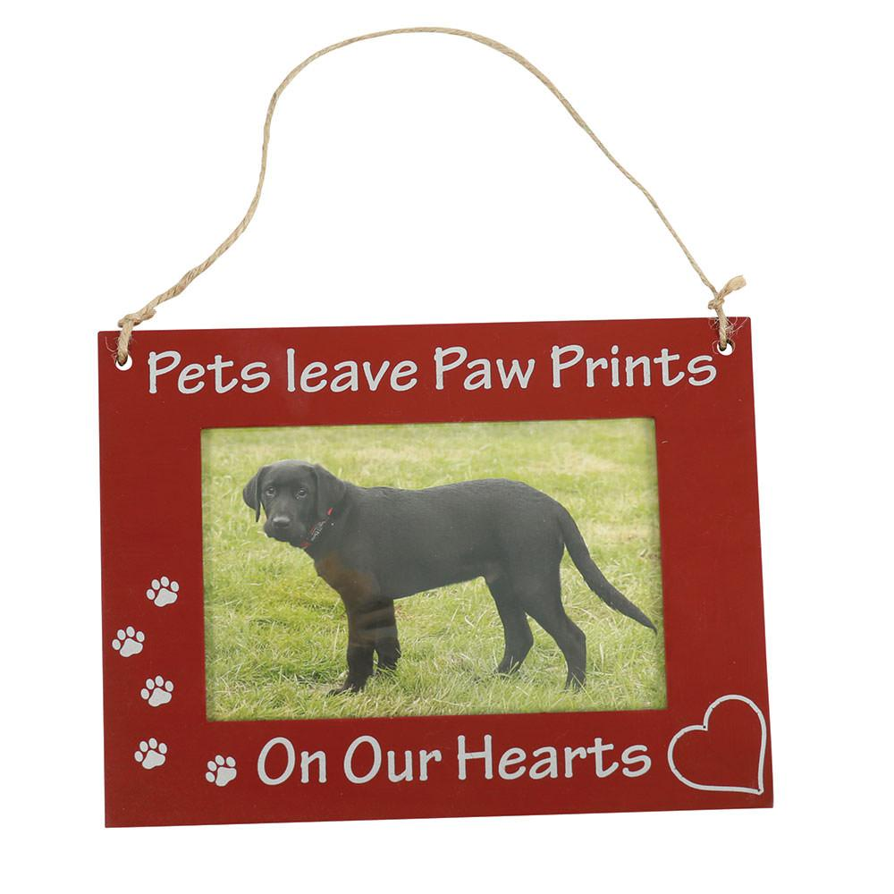 Pet picture frame hanging 6 x 8 brown pets on our hearts pet picture frame hanging 6 x 8 brown pets on our jeuxipadfo Image collections