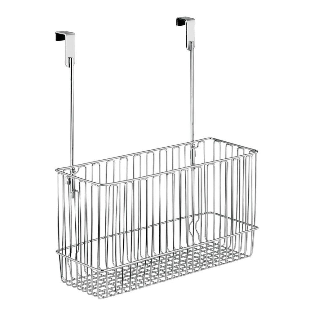 Over The Cabinet Basket Classico Over Cabinet Basket Interdesign 50110 Racks Hooks