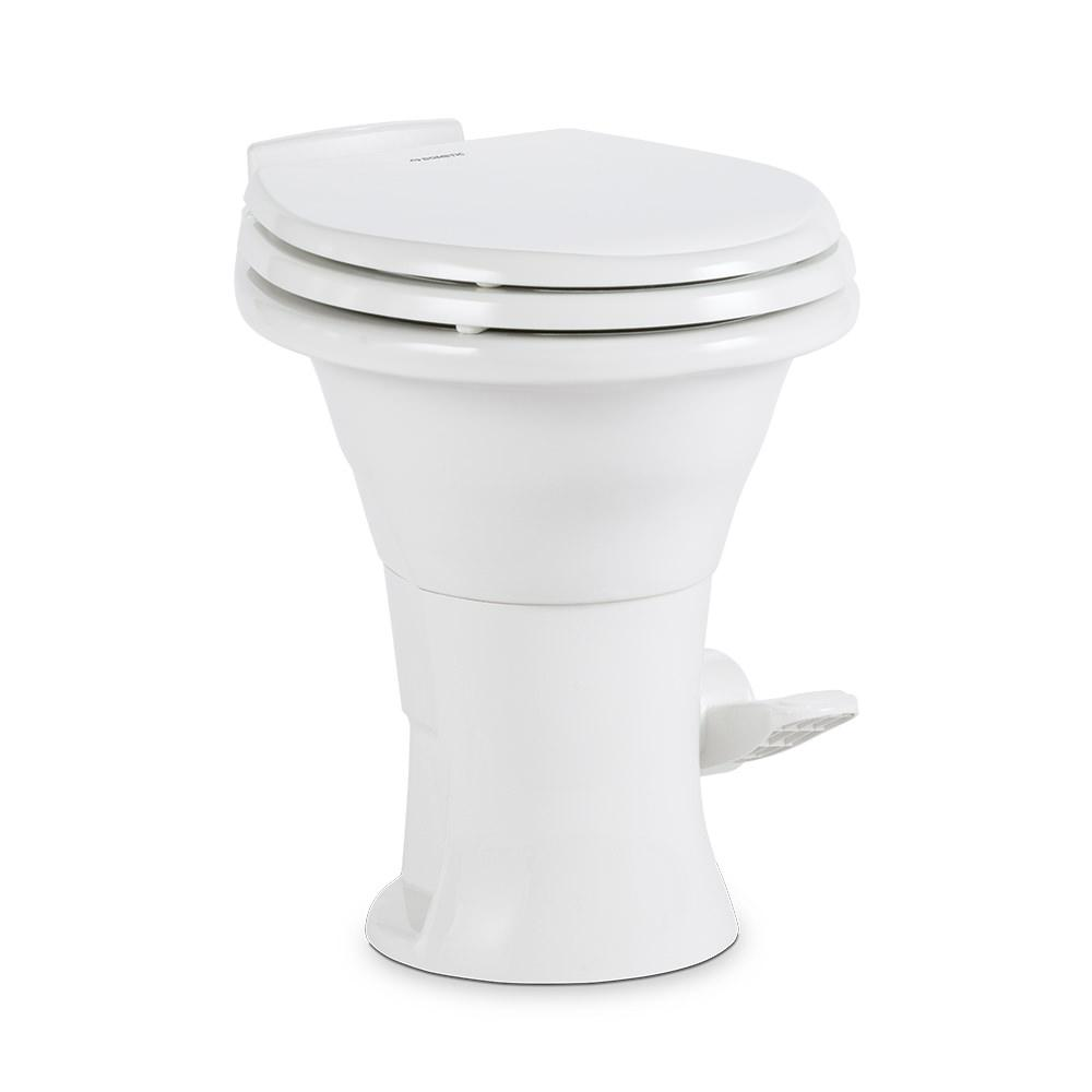 Dometic 310 Series High Profile Gravity Discharge Toilets White