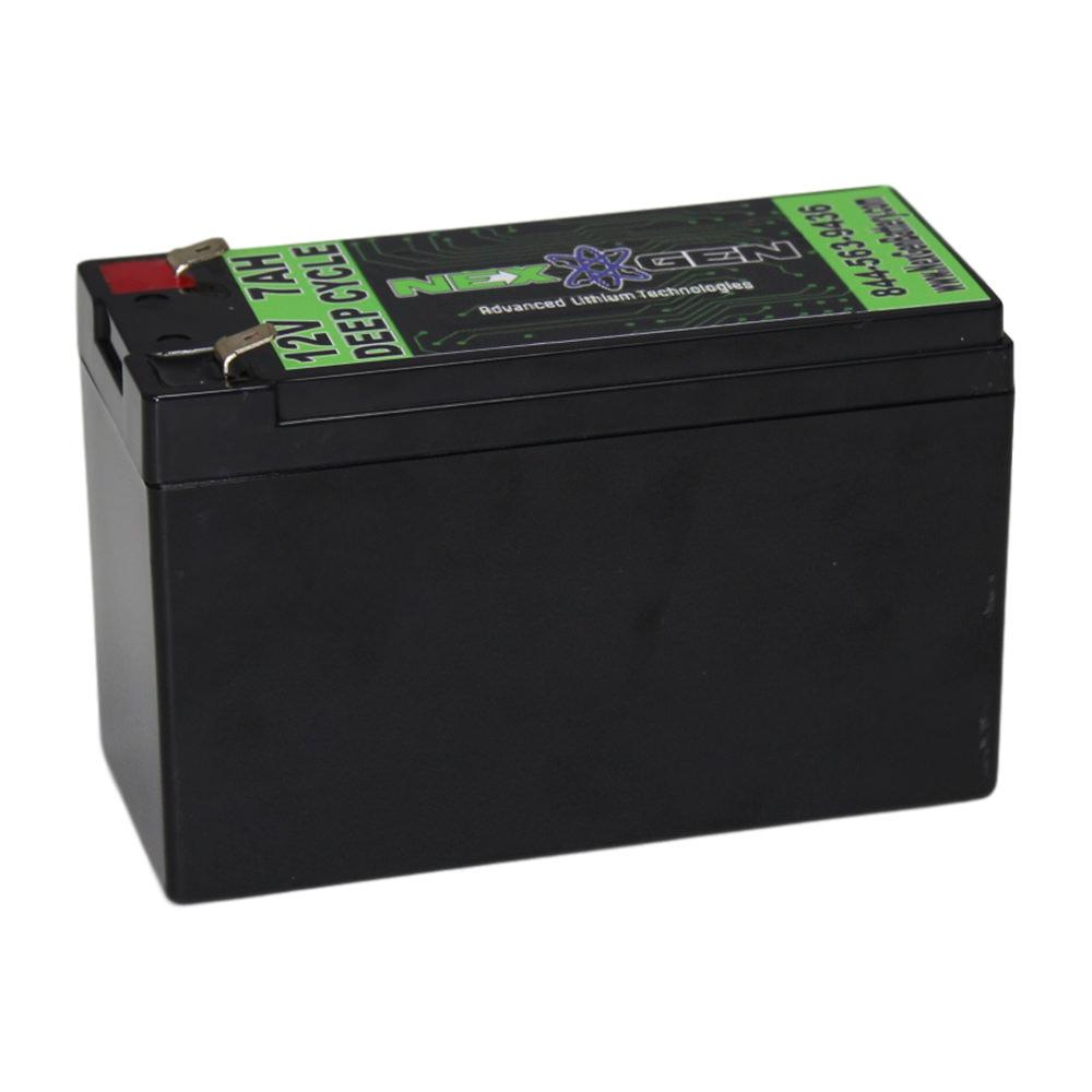 nexgen 12v lithium ion battery 12v 7ah replacement nexgen batteries ng7 batteries. Black Bedroom Furniture Sets. Home Design Ideas