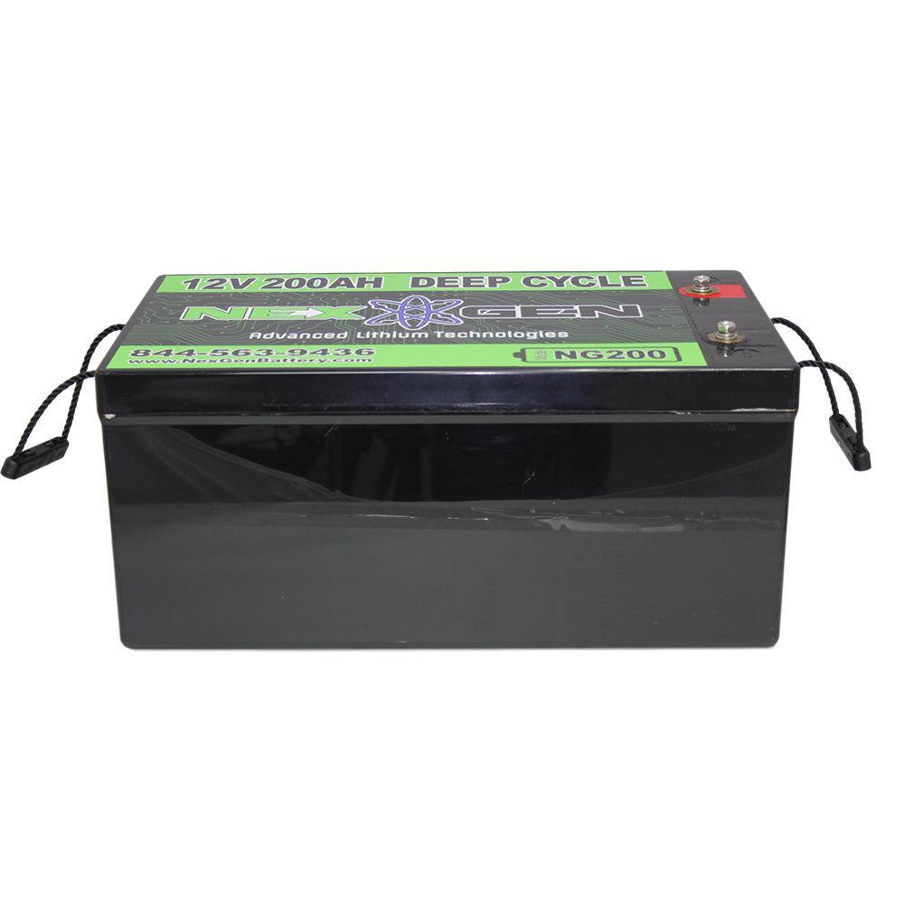 nexgen 12v lithium ion battery 12v 200ah replacement. Black Bedroom Furniture Sets. Home Design Ideas