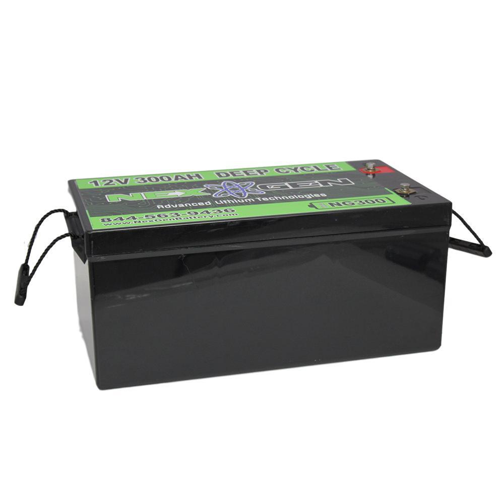 nexgen 12v lithium ion battery 12v 300ah replacement. Black Bedroom Furniture Sets. Home Design Ideas