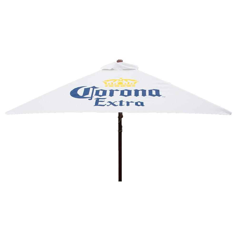 Elegant Corona Extra Square Patio Umbrella, 6.5 ...