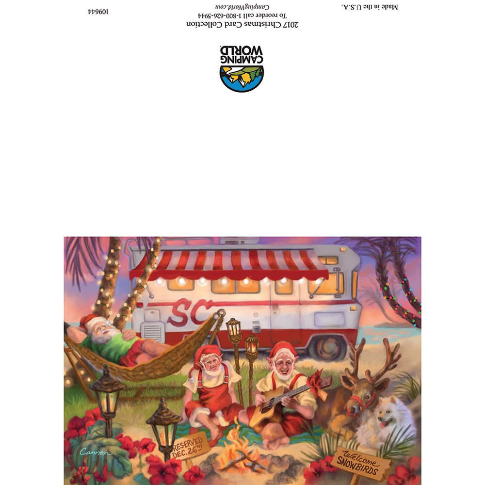 Rv Christmas Card Class A Beach Corporate Products Llc 109644
