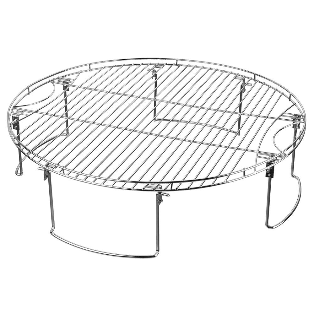 Large Cooking Grate with Legs - Mr Bar-B-Q 08600YFS - Skillets ...