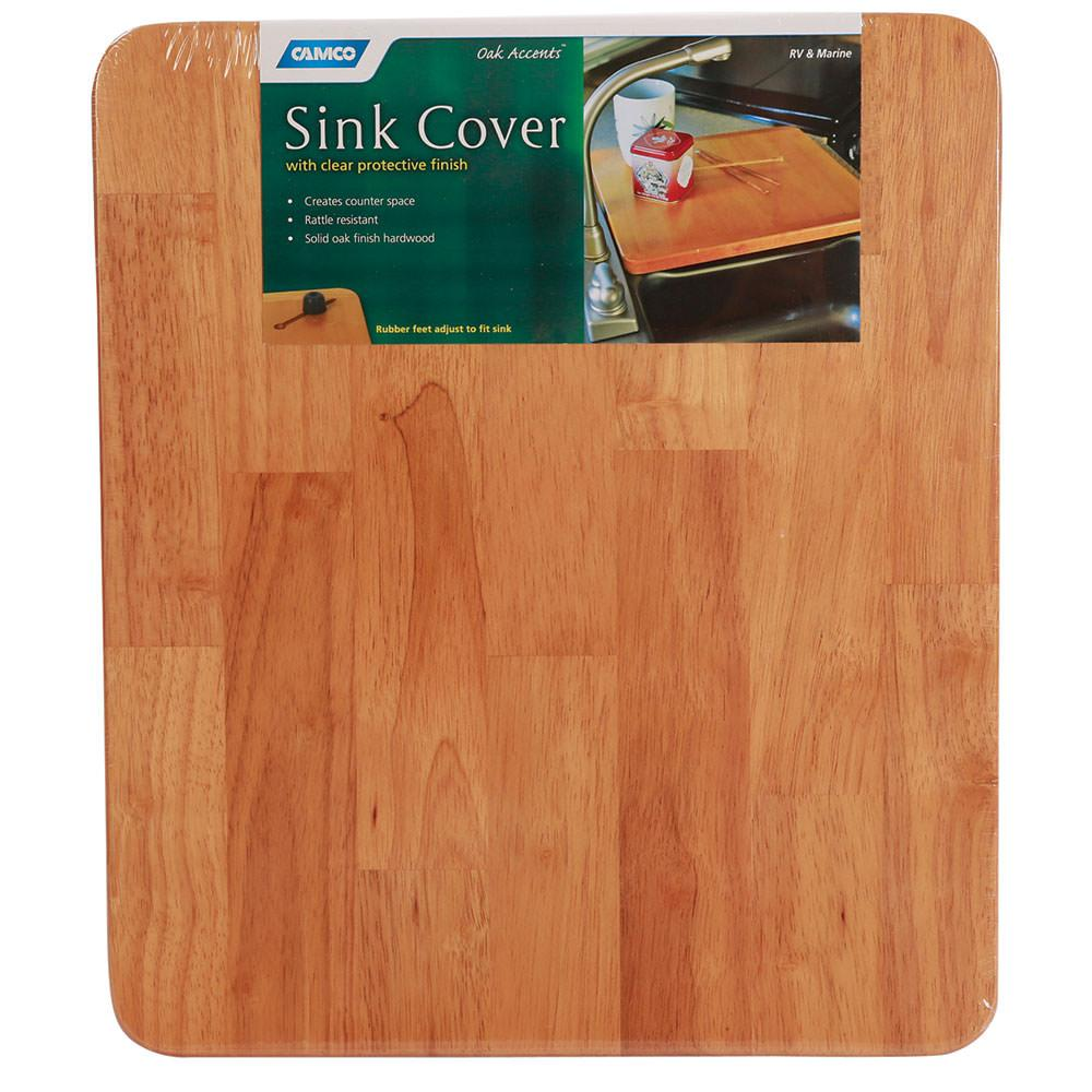 oak accents sink cover - camco 43431 - counter & stove tops