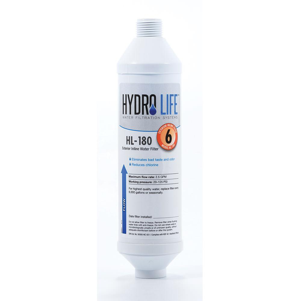 hydro life exterior hose water filter - Water Filter