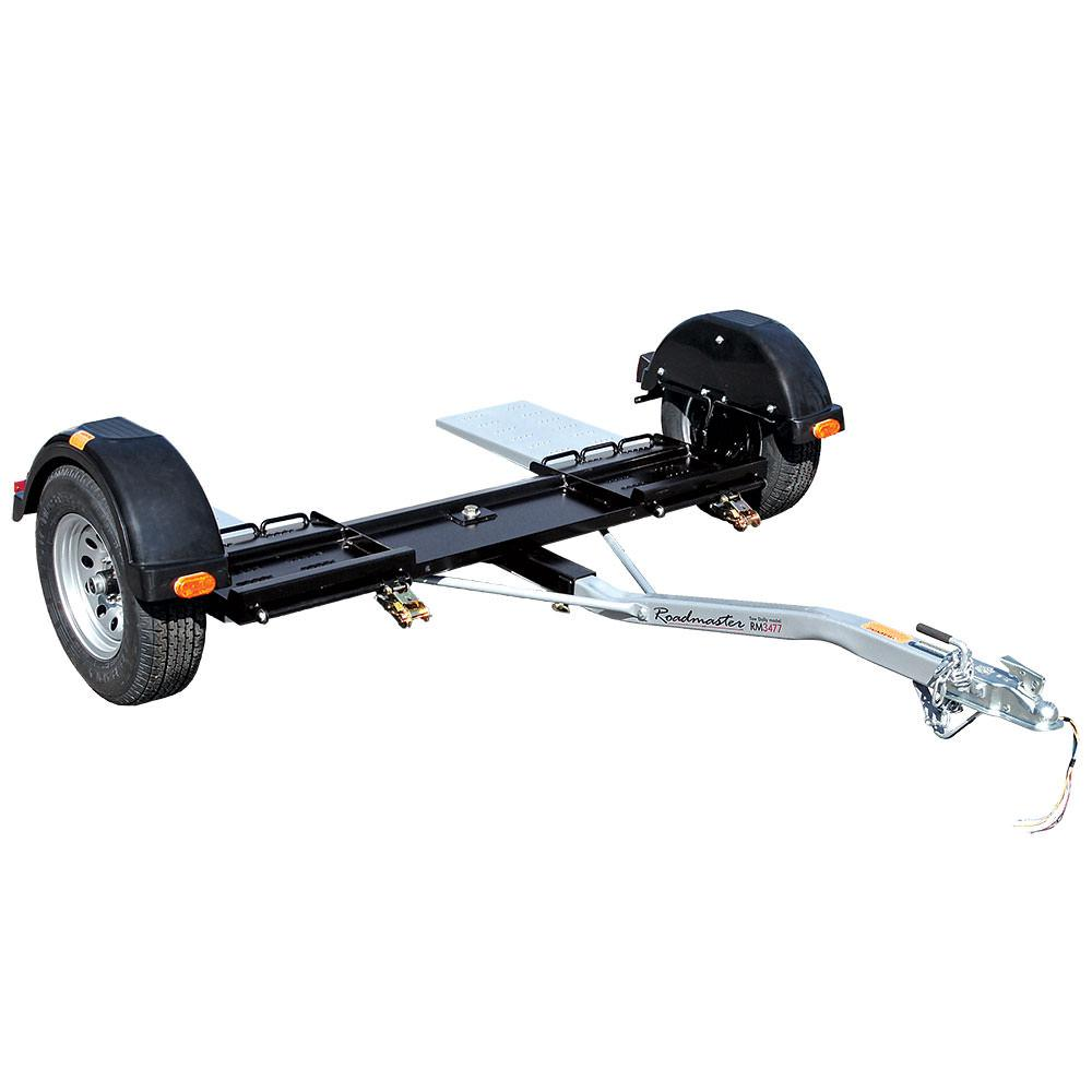 Roadmaster Universal Tow Dolly With Electric Brakes Roadmaster