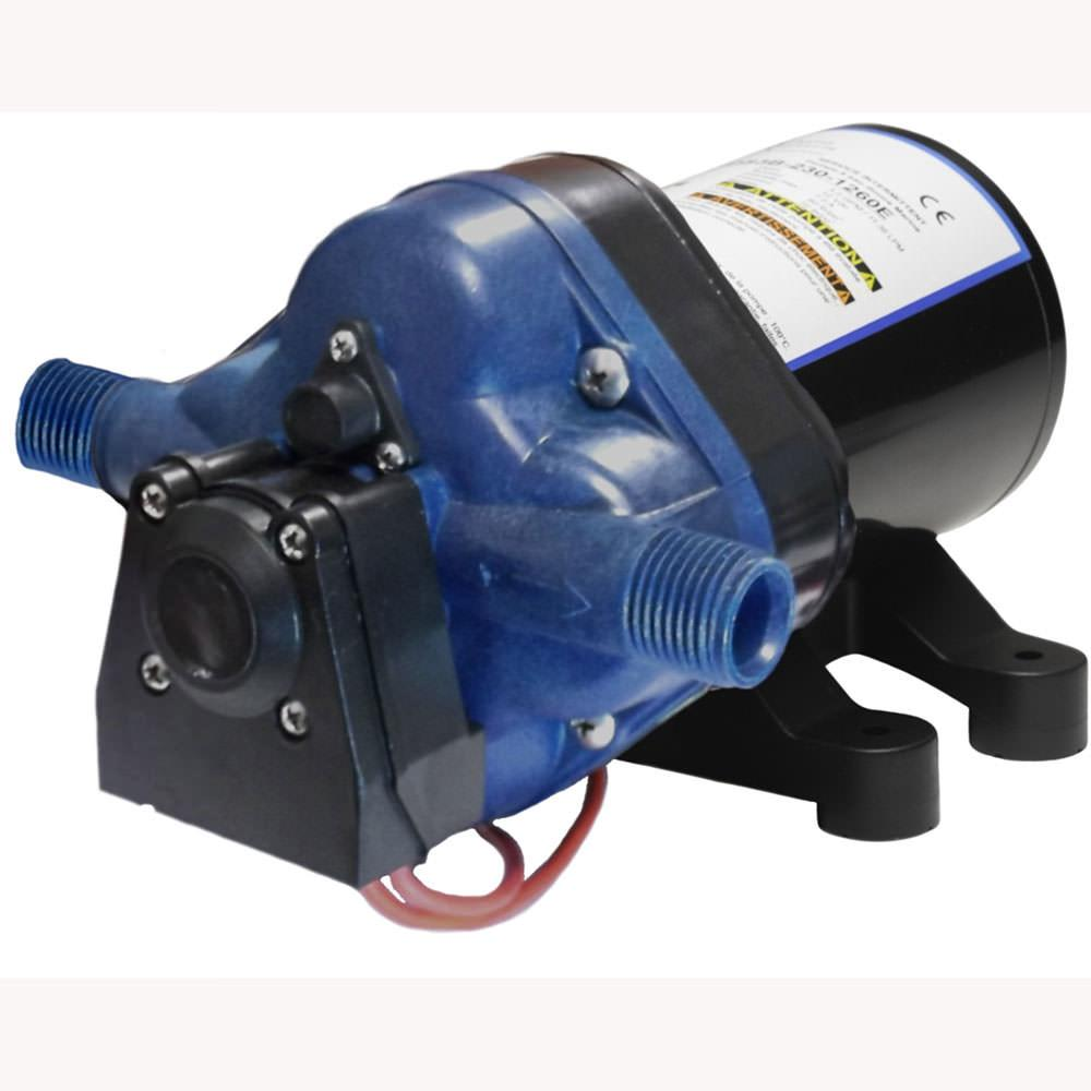 Shurflo 4008-101-F6 12V Water Pump With Bypass 55PSI - фото 4