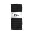Dish Cloths, Black – 5 Pack