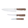 Chicago Cutlery Walnut Tradition 3-Piece Knife Set