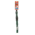 Pet Stuff Pet Collar - Medium, Green