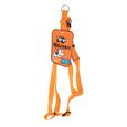 Pet Harness - Small, Orange
