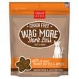 Wag More Soft Chewy Peanut Butter & Apple Treats, 5 oz.