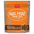 Wag More Soft Chewy Creamy Peanut Butter Treats, 6 oz.