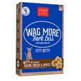 Wag More Natural Recipe Itty Bitty Oven Baked Bacon, Cheese & Apple Dog Treats, 8 oz.