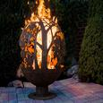 Blowing Leaf Fire Globe, Large