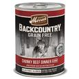 Merrick Backcountry Pet Food, Chunky Beef