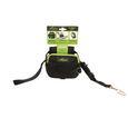 Leash Gear™ 3-in-1 Pet Leash, Small, Black