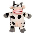 Cow Mighty Jr. Plush Dog Toy, 6 1/2''H