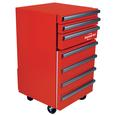 Koolatron Tool Chest Fridge with Drawers, 1.8 cu.ft.