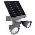 2 x 3 Watt COB LED Motion Activated Solar Spotlight, 600 Lumens