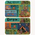 Camping Critter Camping Placemat