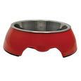 Medium Pet Bowl, Red