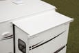Replacement Fabric for Dometic Elite EZ Slidetopper, Polar White, 132