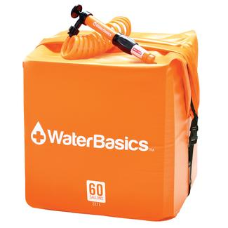 WaterBasics Water Storage Kit with Filter, 30 Gallon