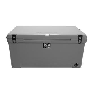 K2 Summit 120 Quart Cooler, Steel Gray