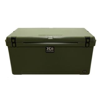 K2 Summit 120 Quart Cooler, Duck Boat Green