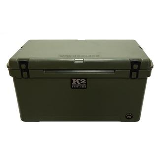 K2 Summit 70 Quart Cooler, Duck Boat Green
