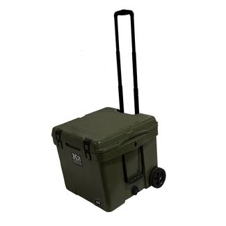 K2 Summit 30 Quart Wheeled Cooler, Duck Boat Green