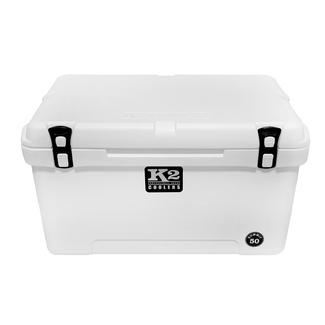 K2 Summit 50 Quart Cooler, Glacier White